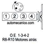 Firing Order 235 Chevrolet 6 Cylinder Engine (Inline 6