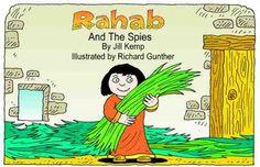 Rachab en de verspieders (zwart-wit)