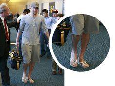 SPOTTED: Channing Tatum rocks our Brasil flip flops through the airport