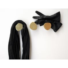 Face is a series of three coat hooks (or fixed door knobs) designed by Claesson Koivisto Rune for Skultuna. The hooks are cast in solid brass and fine polished Coat Hooks, Runes, Packing, Mini, Face, Medan, Brass, Interiors, Bedroom