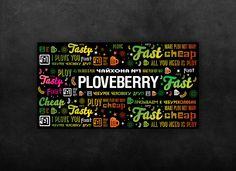 PLOVEBERRY. Rebranding. Brandbook. Guide-line. on Behance