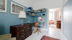 Dormire nelle case più belle di Londra: una townhouse un po' shabby e un po' bohème | La gatta sul tetto. Interior design blog