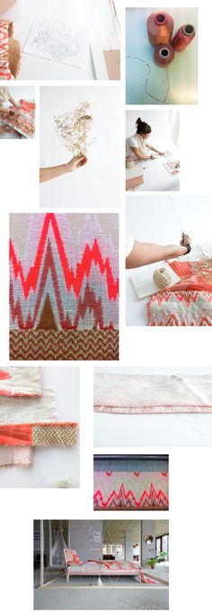 One of our favourite designers from The Minimalist Store - Mae Engelgeer. Textile Courses, Grey Paint, Interior Accessories, Minimalist Home, Textile Art, Color Inspiration, Weaving, Textiles, Colours