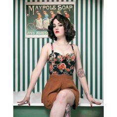 23 Pinup Girls Who've Put A Modern Twist On Old-School Beauty