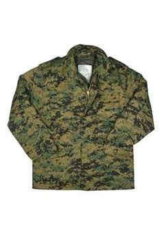 M-65 Field Jacket Woodland Digital ! Buy Now at gorillasurplus.com