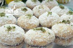 Hindistan Cevizli Sütlü Kurabiye Tarifi Krispie Treats, Rice Krispies, Nutella, Feta, Muffin, Cheese, Breakfast, Desserts, Kitchen