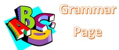 Grammar Page - What grammar to use when.