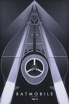 Batmobile by Ron Guyatt