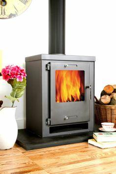 5-6KW CUBE Contemporary Modern Woodburning Stove Stoves | eBay £220 Newbury