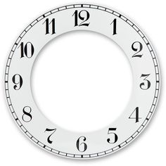 Home Clock Parts Wall Clock Face, Clock Face Printable, Home Clock, Quartz Clock Movements, Clock Parts, Wood Clocks, Free Christmas Printables, Jewelry Patterns, Homemade Gifts