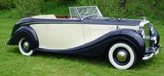 1949 Drophead Coupé by H.J. Mulliner (chassis B242DA, body 4947, design 7121) for W.T. Agar
