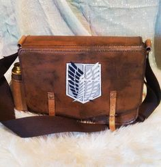 Attack on Titan messenger bag by LuithiensCreation on Etsy https://www.etsy.com/listing/210392585/attack-on-titan-messenger-bag