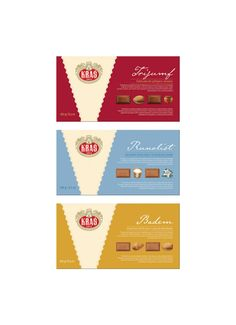 Rebranding of famous Croatian line of chocolate products.