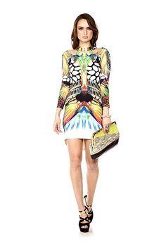 wishwantwear designer dress hire - just cavalli mini