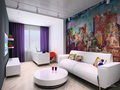 Pop art room design