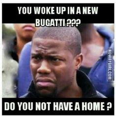 Kevin Hart Bugatti