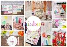Rainbow Wedding Inspiration Rainbow Wedding, Boards, Wedding Inspiration, Planks