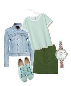 """""""весна.."""" by laragora on Polyvore featuring Boohoo and Kate Spade"""