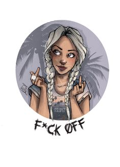 F*uck Off by itslopez.deviantart.com on @deviantART