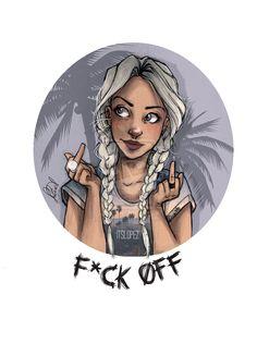 F*uck Off by itslopez.deviantart.com on @deviantART