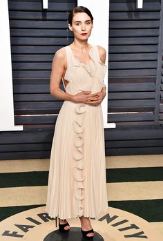 H&M designed one of the best dresses on the Vanity Fair Oscar Party red carpet. See it here.