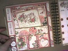 Feb 2015 G45 Time to Flourish Planner by Tammy Merrill