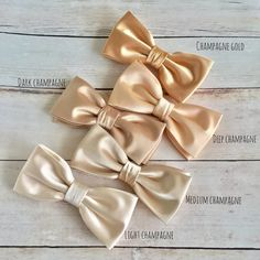 Champagne Satin Bow tie, Champagne Gold Bowtie, Dark Champagne BowTie, Wedding Bow Tie, Bow tie for Groom Groomsmen, Mens Bowtie, Kid Bowtie by GloiberryBowtie on Etsy https://www.etsy.com/uk/listing/517498767/champagne-satin-bow-tie-champagne-gold