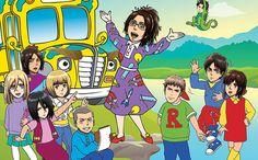 Magic School bus and Attack on Titan
