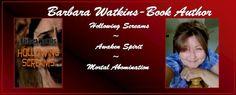 Barbara Watkins's header for her website.