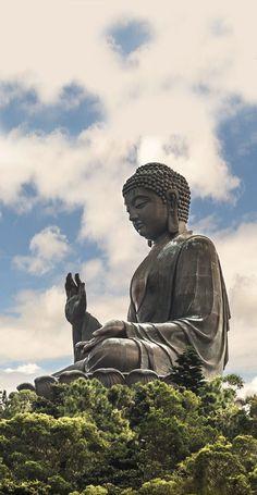 Tian Tan Buddha, Lantau Island, Hong Kong, China
