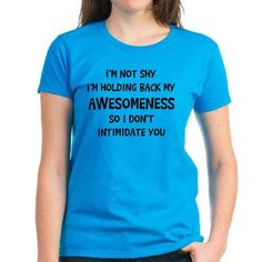 For when people misinterpret your silence:   22 Shirts Every Introvert Should Own
