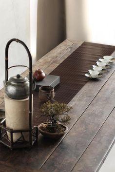 art of tea. Chinese Interior, Japanese Interior, Zen Tea, Zen Style, Chinese Tea, Chinese Style, Tea Culture, Futons, Asian Design