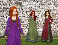 Royal Maxis Conversion for Girls at My Stuff via Sims 4 Updates