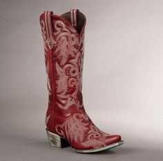 Wild Ginger (red)- Lane Cowgirl Boots – Texas National Outfitters