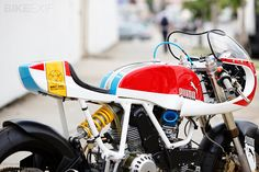 Hi-end custom motorbike from Puma & Siegl.
