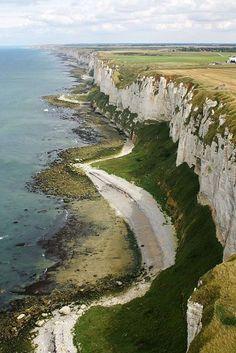 Cliffs on the Côte dAlbâtre France |  Antoine Grandeau