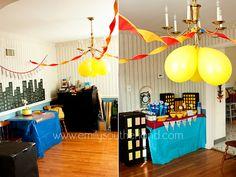 Super Hero Birthday Party.