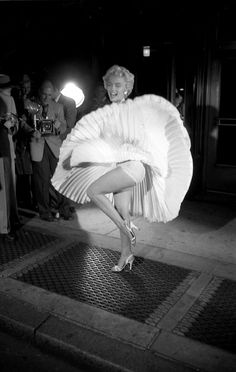 Influential Photographs: Marilyn Monroe in The Seven Year Itch, 1954 by George Zimbel