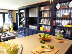 Navy: Always loved this color.   HGTV's Picks: See the Hottest Color Trends Right Now : Decorating : Home & Garden Television