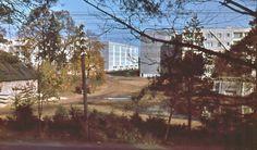 1970-е годы. Рига. Иманта. Вид на пятиэтажки на пр. Комарова с улицы Слокас от почтового отделения № 67 (photo by Latina)...