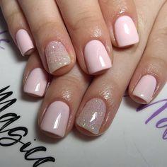 Semi Permanente, Manicure Y Pedicure, Nail Arts, Nail Designs, Make Up, Glitter, Nails, Ideas Para, Beauty