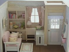 ♡ ♡ Habitación con sofá rosa