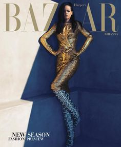 Covers: Rihanna by Camilla Akrans for Harper's Bazaar US August 2012