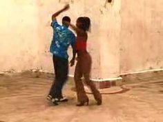 example of Cuban salsa dancing.