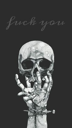 """""""How are you, sweetheart?"""" His mother asks, a look on genuine concern on her face as she stares at his knuckles, covered in various scars. Clarke gives her a sarcastic smile and a thumbs up. """"Never better. Dark Wallpaper, Wallpaper Backgrounds, Skull Wallpaper Iphone, Art Doodle, Satanic Art, Skeleton Art, Skeleton Bones, Arte Obscura, Dope Wallpapers"""