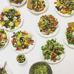 Wow we are having the most incredible summer Ayurvedic salad feast made by everyone ✨individually at this weekend's raw food and wellbeing immersion course. What beauty, what colour, what nourishment p. Next immersion weekend is of July! Eat The Rainbow, Raw Food Recipes, Nutrition, The Incredibles, Salad, Colour, Summer, Beauty, Color