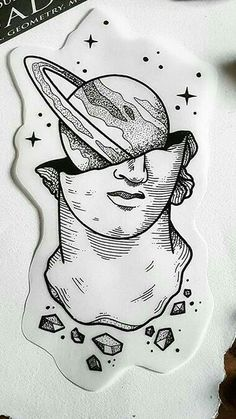 About the Millennium Culture - Art - .- Über die Millenniumskultur – Kunst – About the Millennium Culture – Art – - sketches Cool Art Drawings, Art Drawings Sketches, Tattoo Drawings, Drawing Ideas, Drawing Art, Space Drawings, Woman Drawing, Simple Drawings, Pencil Drawings