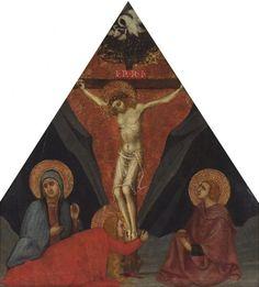 Andrea di Bartolo - Crocifissione - c. 1400 - tempera e oro su tavola - The Samuel H. Kress Collection, Peabody College, Vanderbilt University Fine Arts Gallery, Nashville