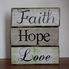 Live By Faith Wood Sign / Home Decor / Hand by SweetMonkeyBoutique ...