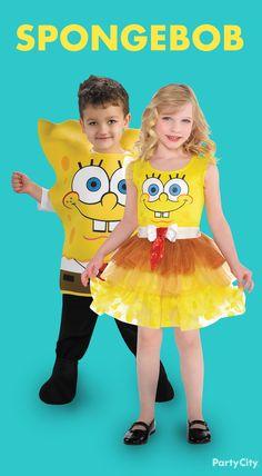 Arrre ya ready kids? Aye aye captain! Dress your little ones in the cutest SpongeBob costumes!